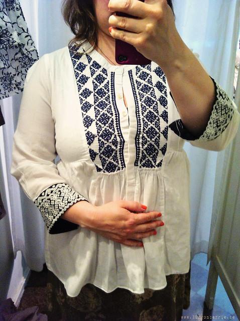 Bolivar l/s blouse