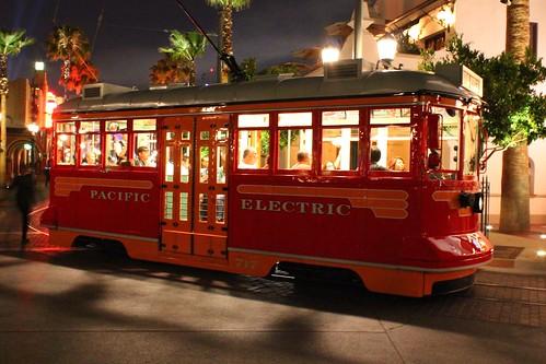 Red Car Trolley at Disney California Adventure