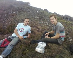 Ryan and me on top of Atitlan