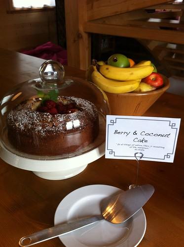Cake or fruit?