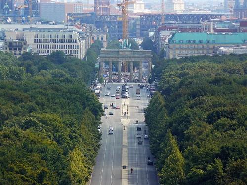 Vistas desde la columna de la Victoria (Berlín)