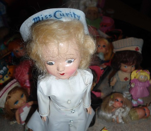 Miss Curity nurse doll