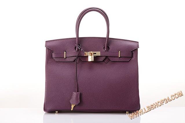 H35铂金荔纹紫色