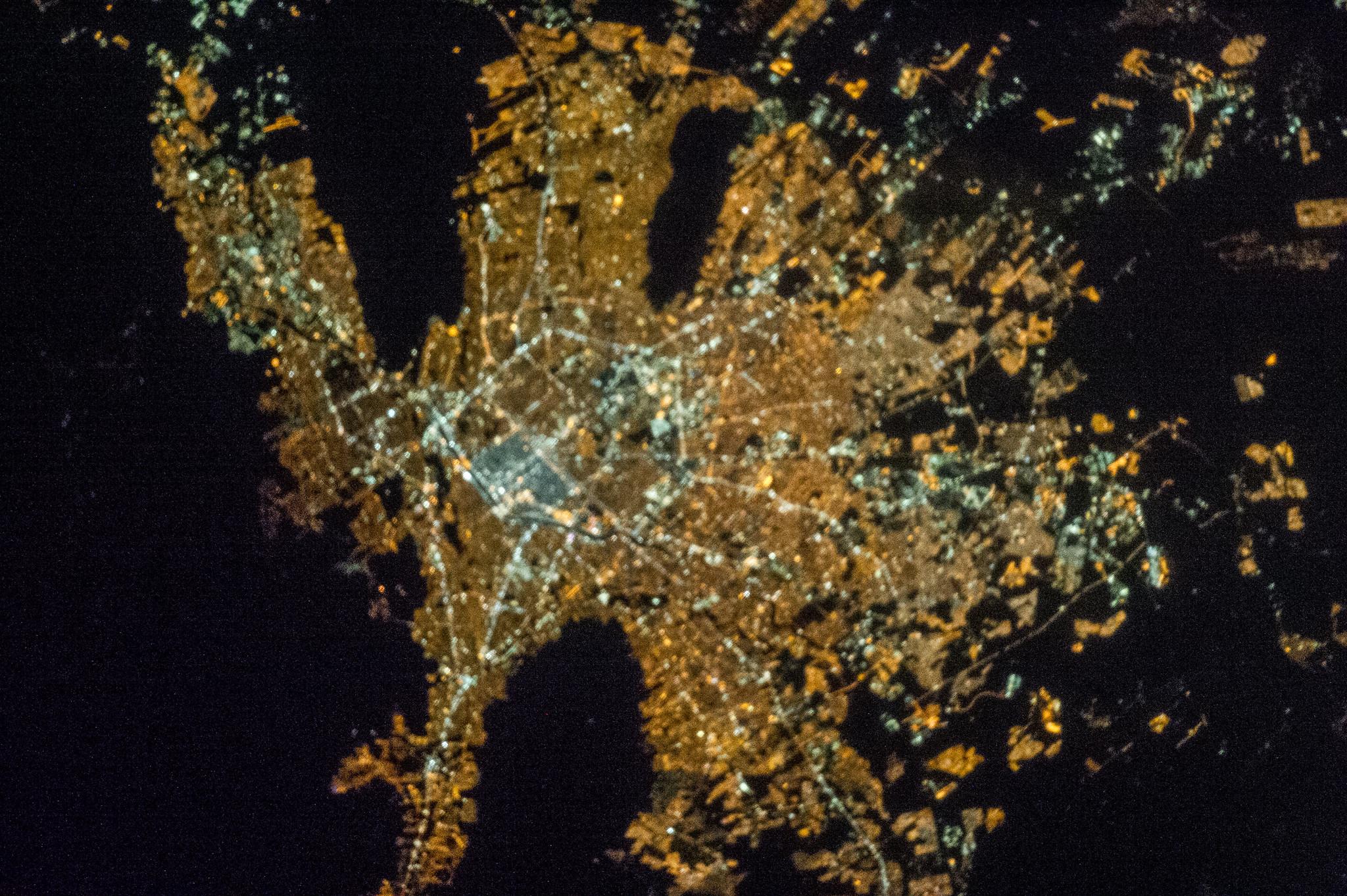 nasa night earth mexico - photo #10