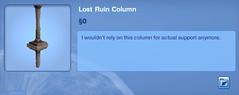 Lost Ruin Column