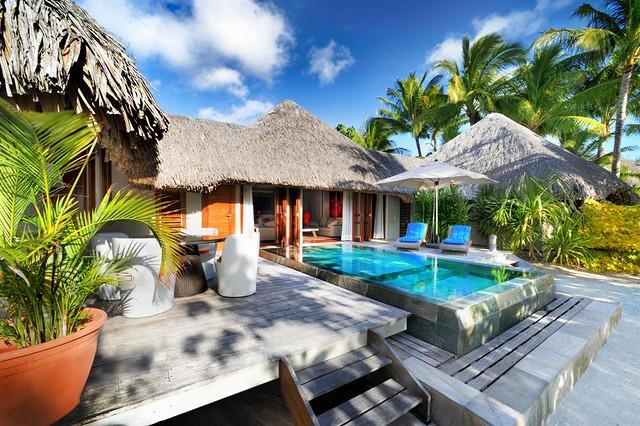Le Meridien Bora Bora—Villa - Terrace