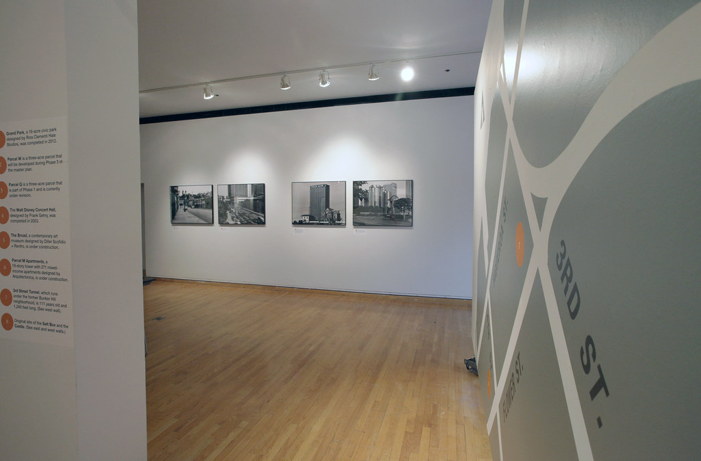 "A view of the Hartell Gallery installation, ""A Grand Project."""