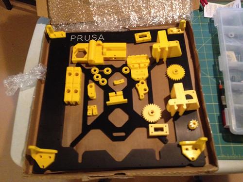 Prusa i3 Printer - Parts piling up