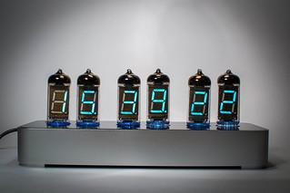 IV-11 VFD Clock (Aluminium)