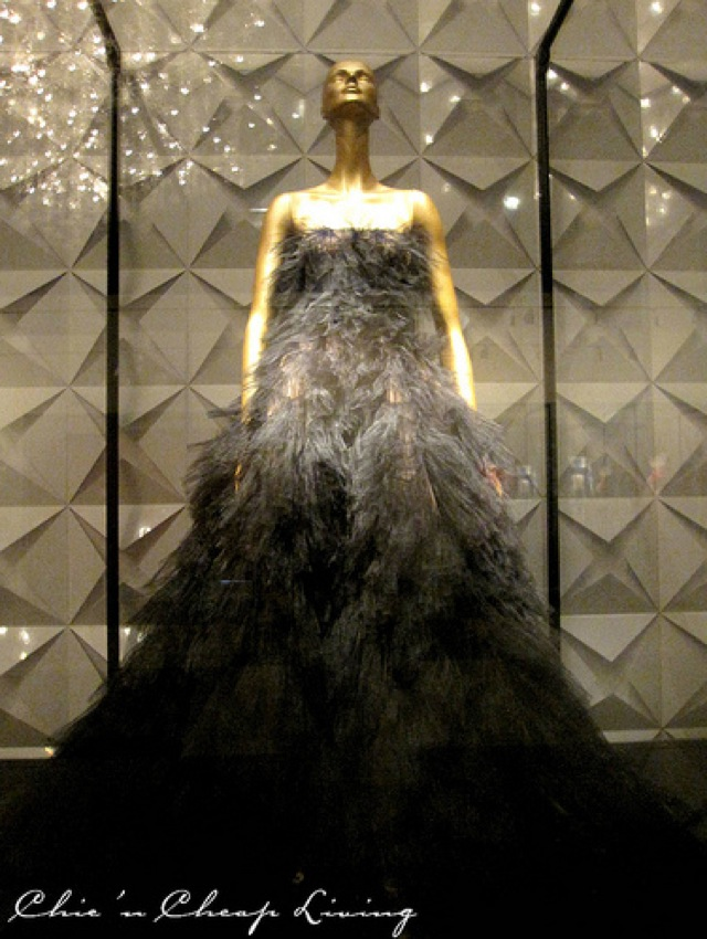Valentino, Tulle petals gown 2009 at Valentino Retrospective - by Chic n Cheap Living