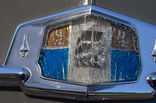 Broken Plymouth Badge