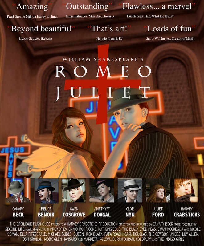 Romeo + Juliet Movie Poster FINAL