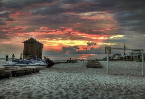 sunset beach hdr panamacitybeach 3xp photomatix topazadjust5 nikon1618mm