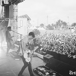 Bloc Party photographed by Chad Kamenshine
