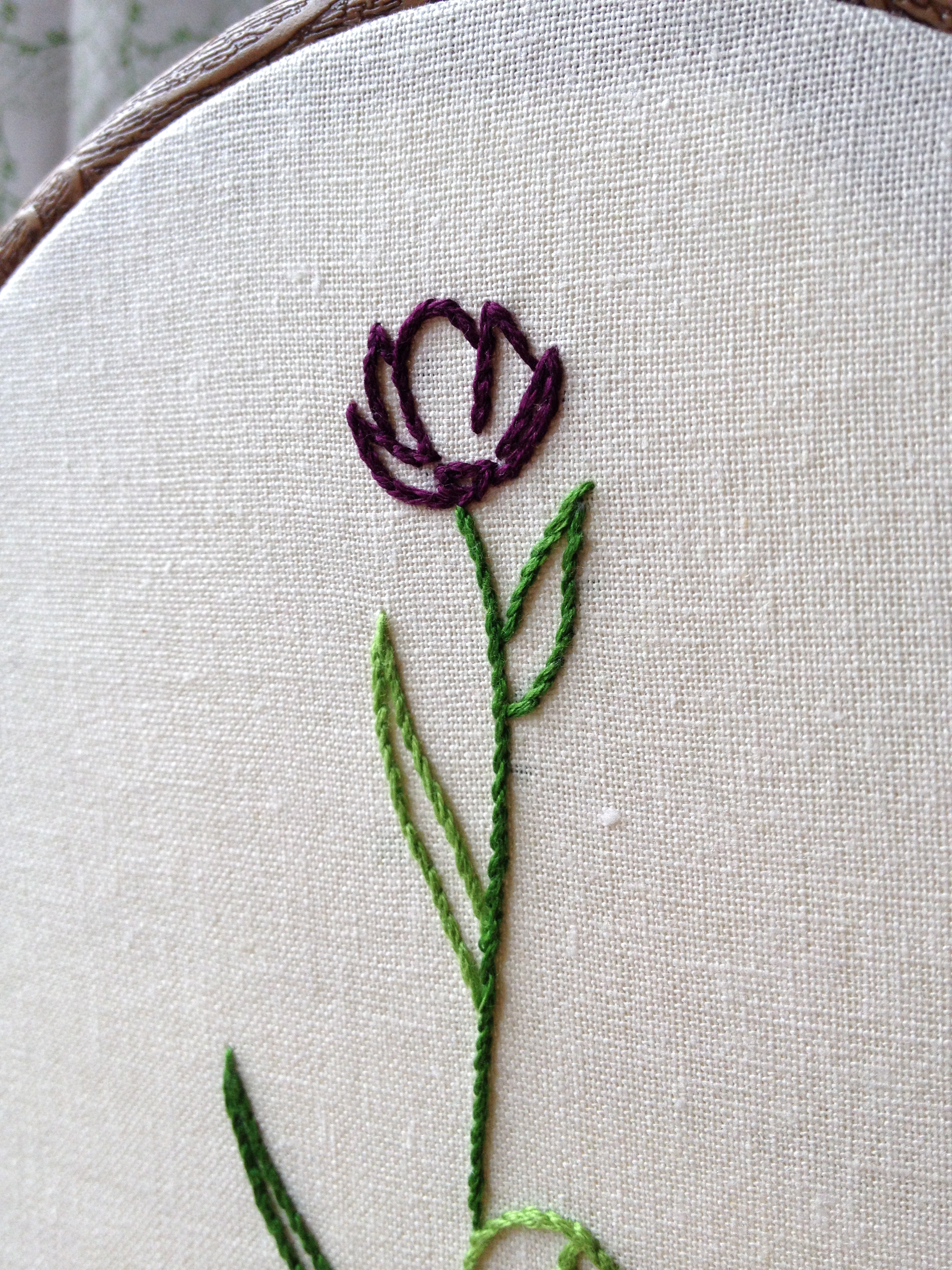 The Black Tulip Embroidery Patterns