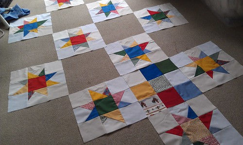 Wonky Farm Star Blocks