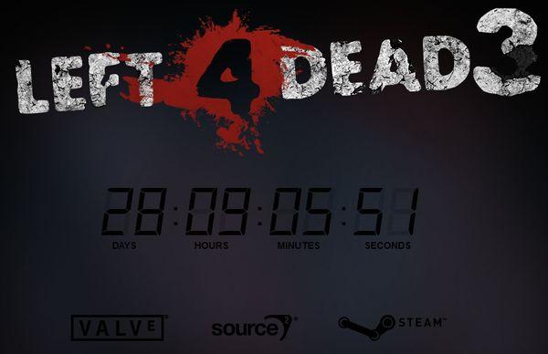 Выход Left 4 Dead 3