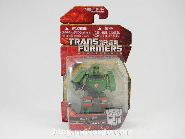 Transformers Hoist Legends - Generations GDO - caja