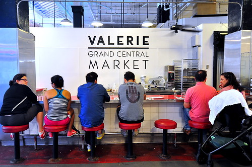 Valerie at Grand Central Market - Los Angeles