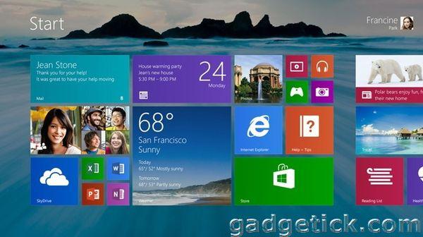 дата выхода Windows 8.1