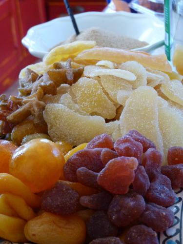 Rhum aux fruits secs