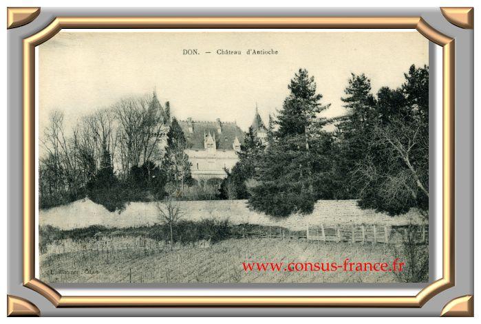 DON - Château d'Antioche -70-150