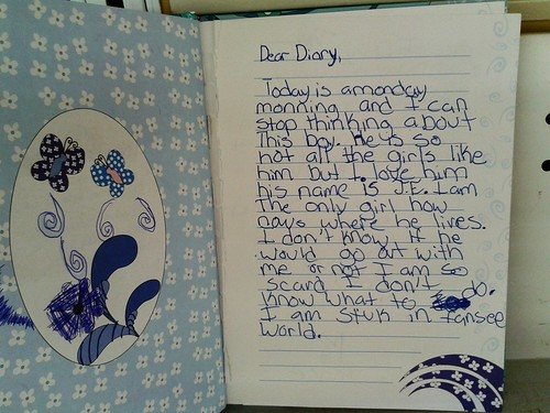 Monday Diary by Little Girl (Stuk in Fansee World)(July 26 2013)