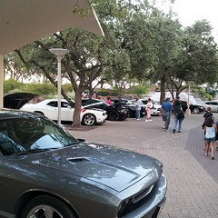 muscle cars at the tower