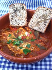 shakshuka at kanella