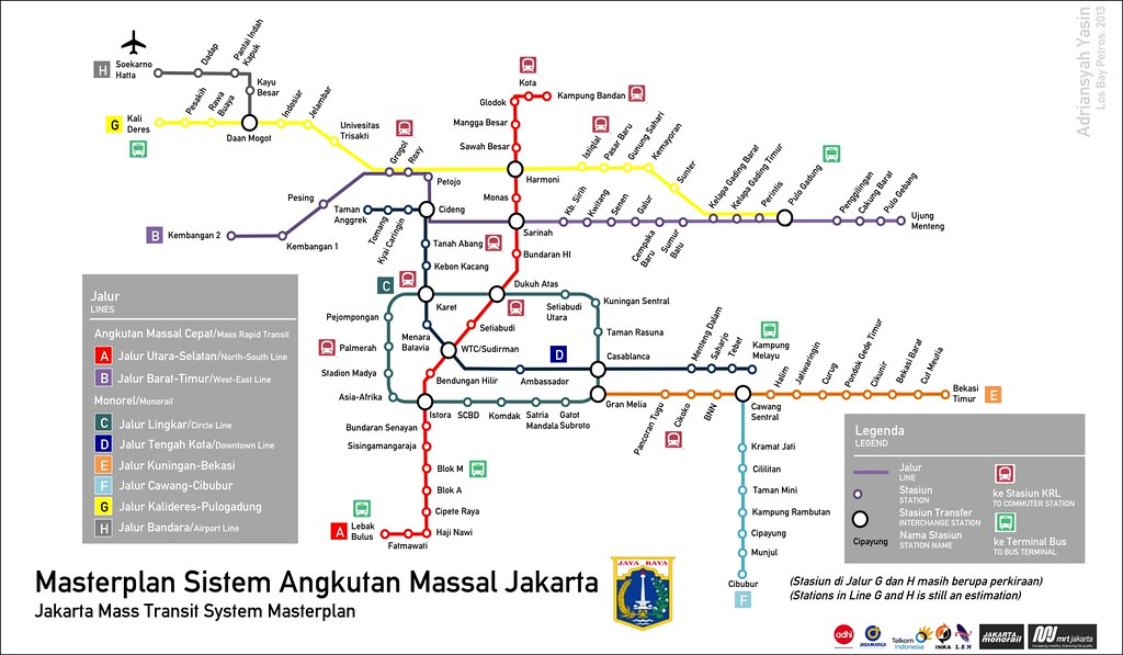 Jakarta Mass Transit System Adriansyah Yasin Flickr