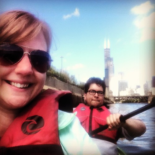 Kayaking from downtown to Chinatown