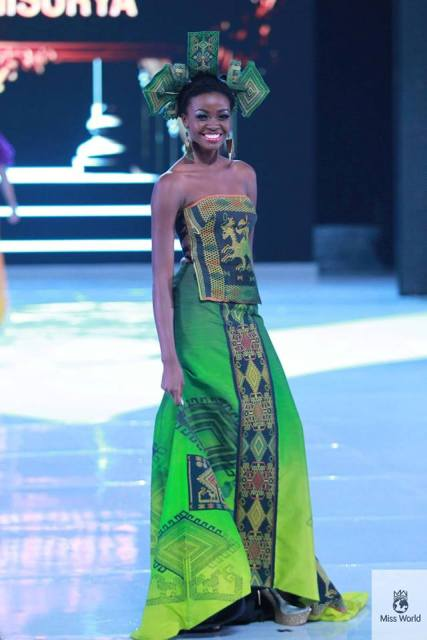 Miss Ghana at Miss World