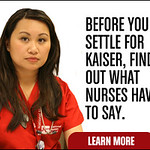 Kaiser RNs Launch Ad on Eve of ACA: Be Wary of Insurers Who Limit Access to Hospital, Nursing Care