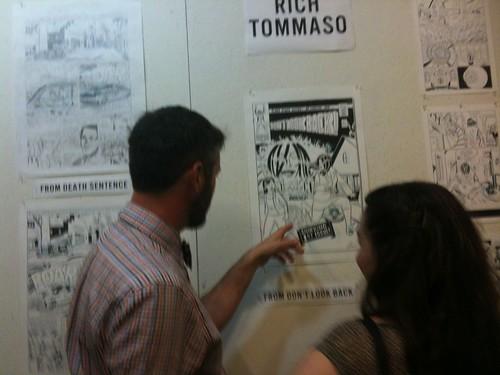 Rich Tommaso Art Show