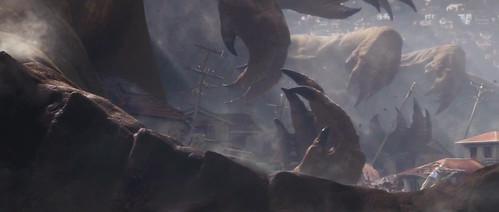 131005 - SDCC預告片公開!2014年 IMAX 3D立體《ゴジラ GODZILLA》哥吉拉電影一睹『怪獸廢墟』驚駭場面! 1