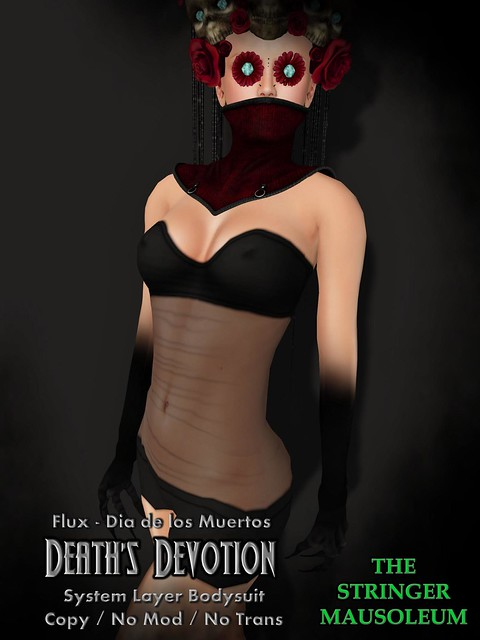 The Stringer Mausoleum - Death's Devotion Bodysuit