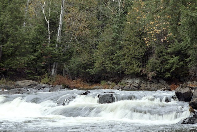 Upper Rapids at Ragged Falls Provincial Park