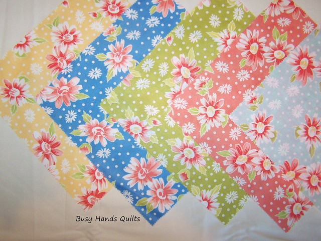 Fresh Flowers Quilt-Along