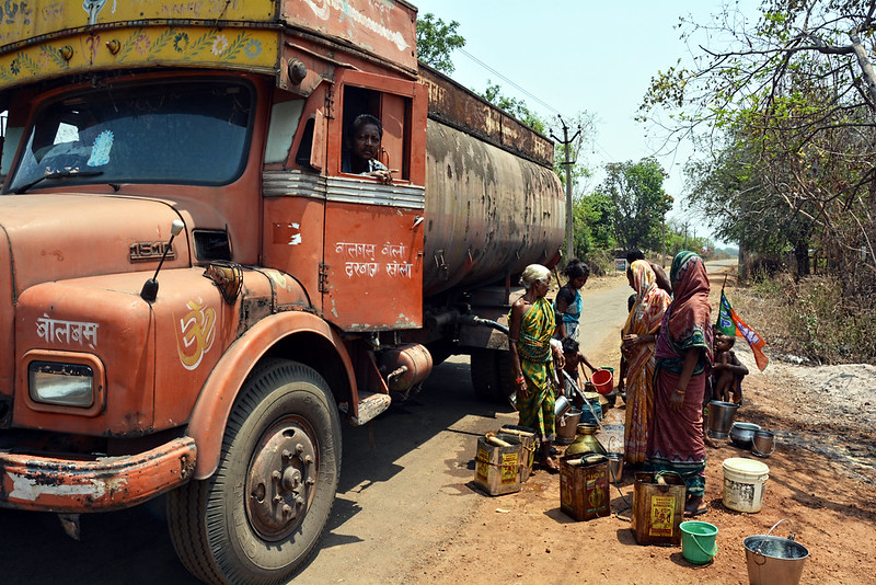 Villagers of Jugipali and Kurla village have struggled without a water connection for over 60 years now.