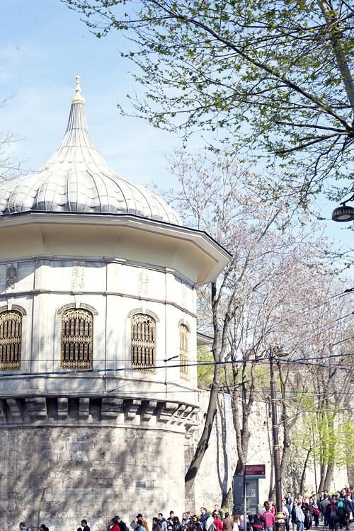 Gulhane park, Istanbul liten