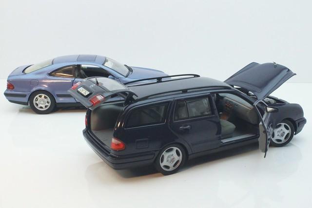 Mercedes Benz CLK320 Kompressor & E420 Estate 1998 #2   Flickr - Photo ...