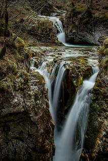 Arzino waterfall, Friuli, Italy