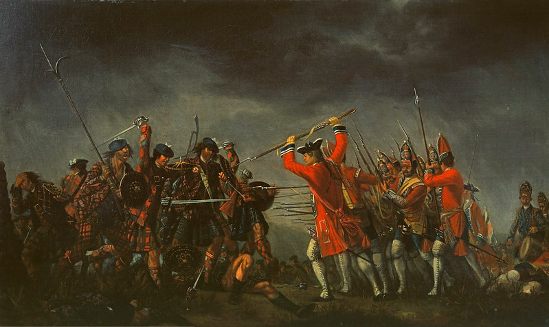 The Battle of Culloden, by David Morier