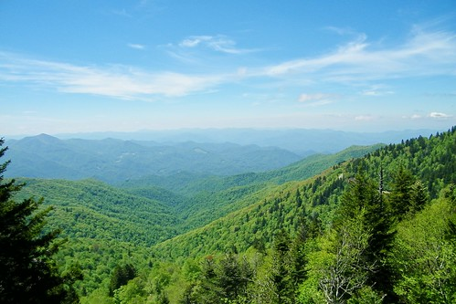 blue north ridge parkway carolina