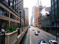 View from the Magnificent Mile