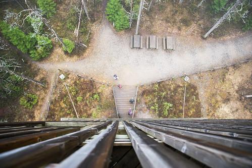 suomi nationalpark hike näkötorni kansallispuisto vaellus viewingtower lauhanvuori