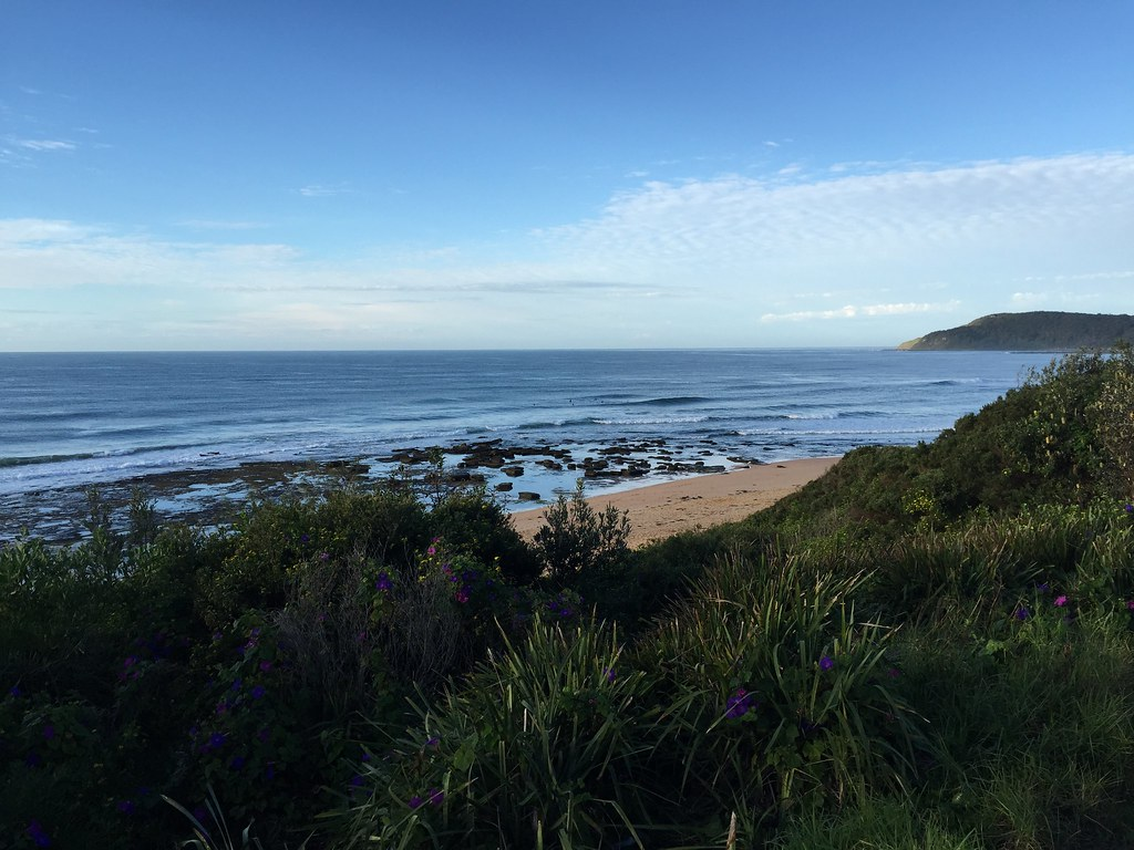 Shelly Beach North   from Toowoon Bay Holiday Park   thelej