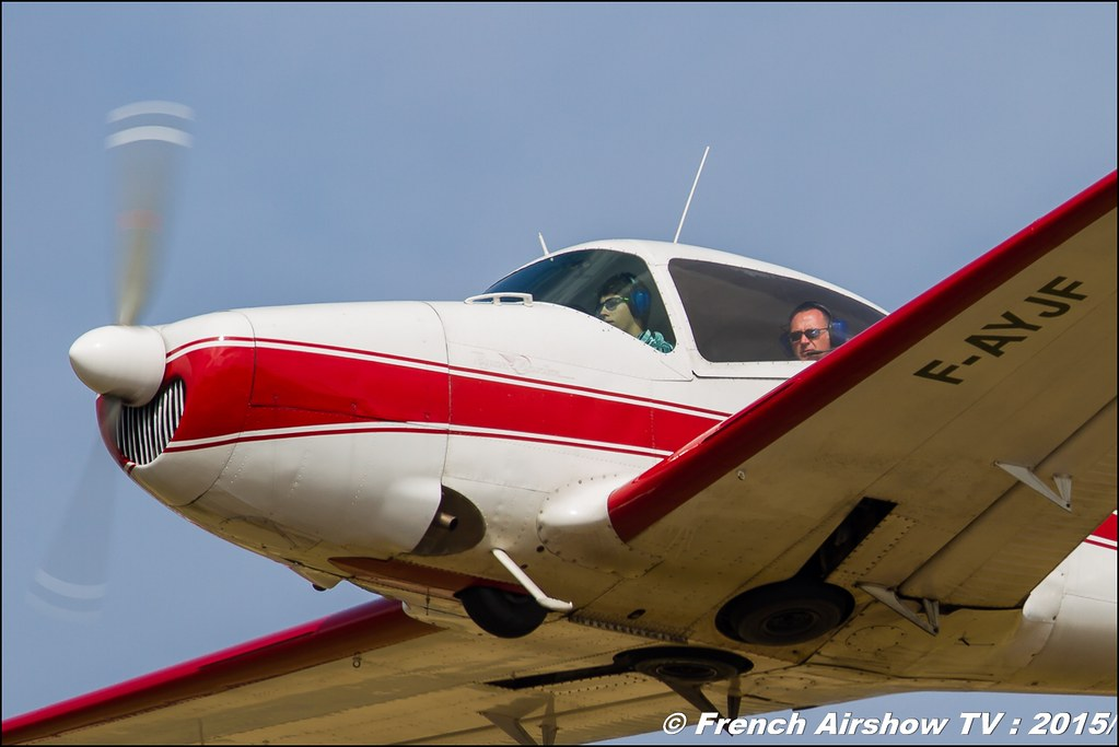 Navion F-AYJF,Fly'in Saint-Yan,Fly in LFBK , Meeting Aerien 2015