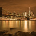 New York City lights by hjuengst