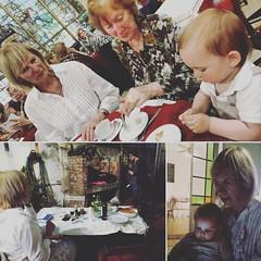 Great family day. High tea at Cafe Las Violetas and an improvised but yummy BBQ dinner at home. ~~ Dia de famila genial. Merienda en Cafe Las Violetas y asado para la cena en casa hizo por Santi. Day 296 - October 22, 2016 #365project #365days #365gratefu